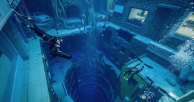 Dubai's deepest swimming pool